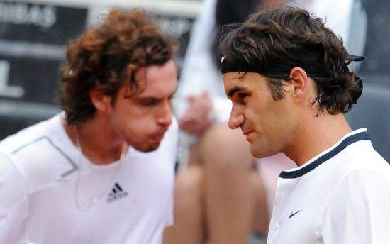 Gulbja un Federera spēle šovakar TV kanālā Viasat Sport Baltic / Diena